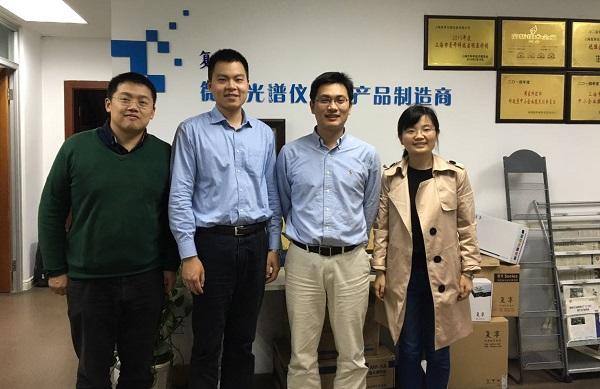 东南大学生物学院副院长 赵祥伟 参观复享光学