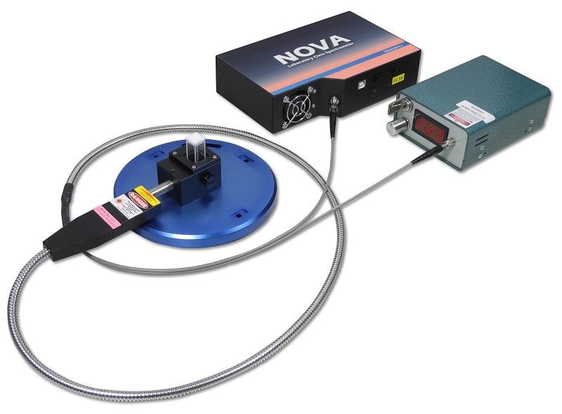 K-sens 拉曼光谱仪 + R4比色皿测量支架