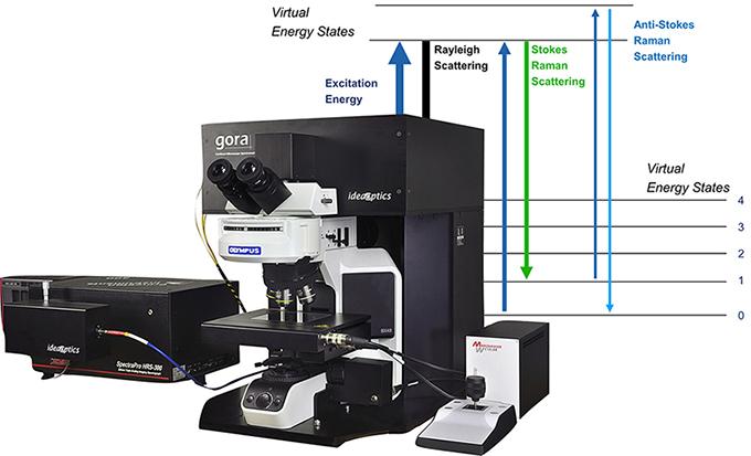 gora 光纤共焦显微拉曼光谱仪