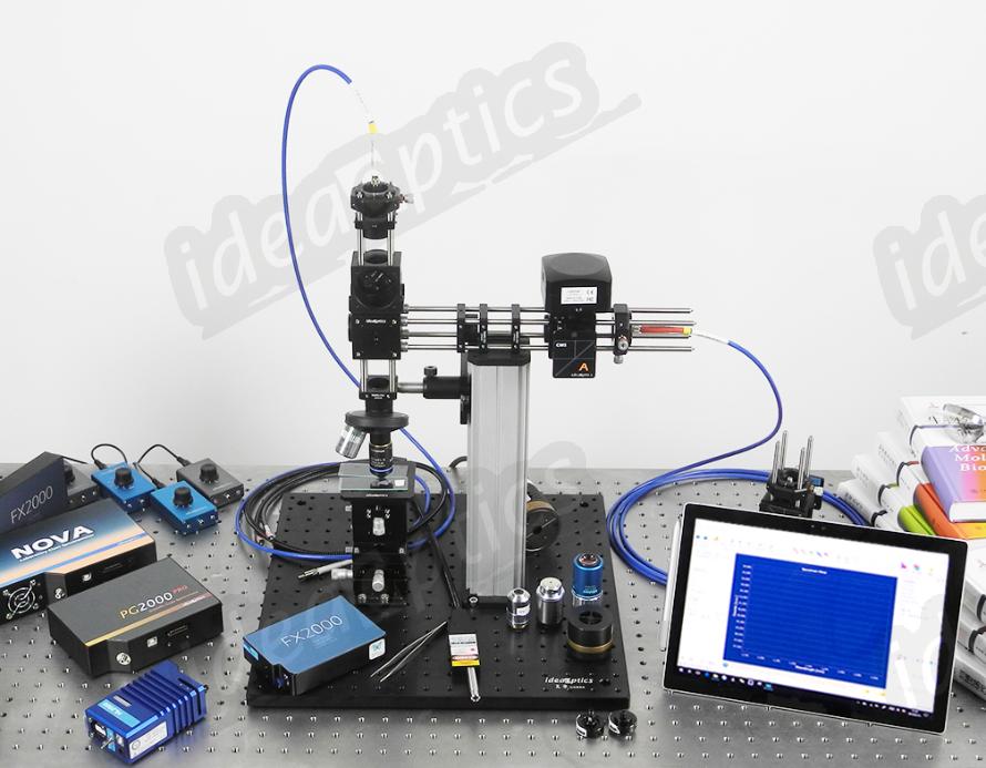 复享光学的一种简易微区光谱方案
