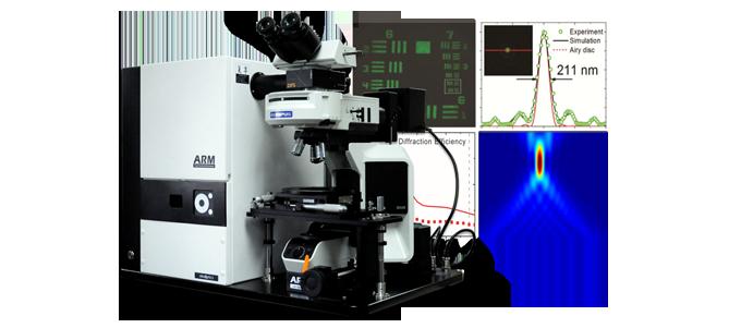 复享光学的ARMS显微角分辨光谱系统