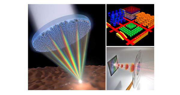 超透镜聚焦及平面微纳结构器件在光子芯片中的应用